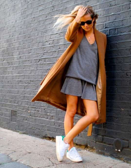 adidas-originals-street-style-grey-dress-camel-coat