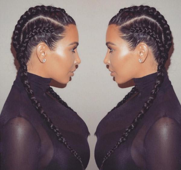 hair-style-braid-kim-kardashian
